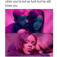 """& Crazy & Petty & push his buttons at least once a day 🙂"" - Funny memes - Relationship Funny Relationship Memes, Relationship Goals Pictures, Cute Relationships, Relationship Games, Rihanna Meme, Rihanna And Drake, Rihanna Fenty, Funny Relatable Memes, Funny Facts"