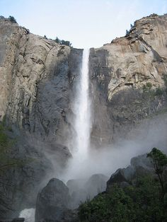 Bridalveil Falls, Yosemite- been there, hiked that!