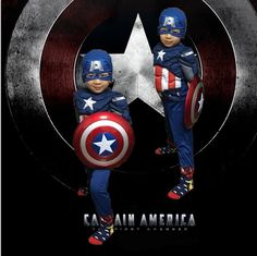 jumpsuit + mask Children party cosplay the Avengers Captain America Muscle Costume Halloween carnival costume for kids boys Price: USD 27.08 | United States