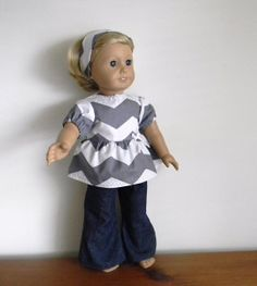 Doll Clothes Fit American Girl Dolls 18 by roseysdolltreasures, $11.00