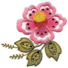 Floral #Embroidery