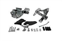 Billet Forward Control Kit Harley Davidson Sportster XL 1986-2003 Bobber (NEW) #VTwinManufacturing