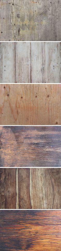 Free 6 Vintage Wood Textures (26.7 MB) | creativealys.com