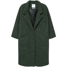 MANGO Oversize Wool Coat (1.885 NOK) ❤ liked on Polyvore featuring outerwear, coats, jackets, wool lined coat, oversized coat, wool coat, woolen coat and oversized wool coat