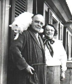 Paul Klee mit Katze