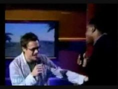 Look IRON MAN sings too!  (Robert Downey Jr. singing on the Wayne Brady Show)
