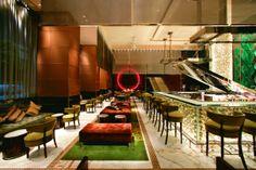 VINICE - Landmark Manderin Oriental Hotel in Hong Kong & Halm cocktail glasses