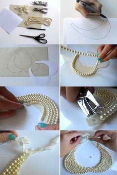 DIY: Pearl CollarNecklace