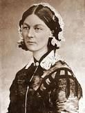 "Florence Nightingale She came to prominence while serving as a nurse during the Crimean War, where she tended to wounded soldiers. She was dubbed ""The Lady with the Lamp"" after her habit of making rounds at"