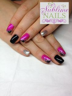 Gel Nails ~ Sublime Nails ~ Like Sublime Nails on Facebook! <3 https://www.facebook.com/sublimenailsedm