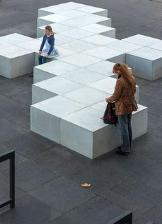 Street furniture in the Märkisches Zentrum, Berlin Reinickendorf. Click image for link to full profile and visit the slowottawa.ca boards >> https://www.pinterest.com/slowottawa/
