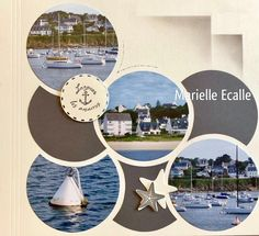 Scrapbook Page Layouts, Scrapbook Pages, Scrapbooking Ideas, Tennis, 4 Photos, Travel Scrapbook, Creations, France, Album