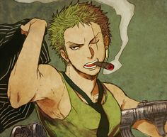 """Oh damn ... whoever made this - thumbs up! The whole picture just scream """"badass"""". And that cigar is a really nice touch. Unexpected but still nice. And now excuse me, please, while I wipe the blood from my keyboard ..."""