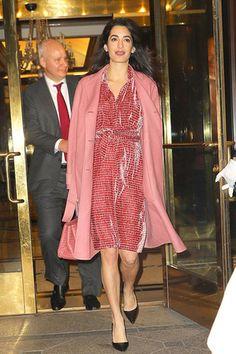 Беременная Амаль Клуни