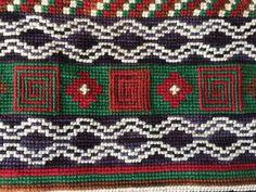 Estuche con motivos mapuches