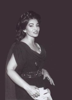 A wonderful photo of Maria Callas'