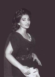 A wonderful photo of Maria Callas'