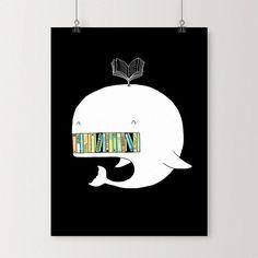My bookshelf - Art print   I Love Doodle - The visual art of Lim Heng Swee