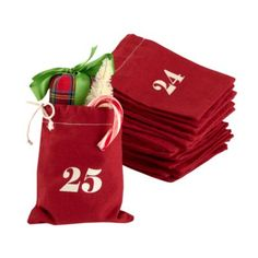Christmas Countdown Goodie Bags & Stocking Stuffers   The Land of Nod