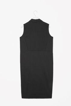 COS image 5 of Sleeveless blazer dress in Black