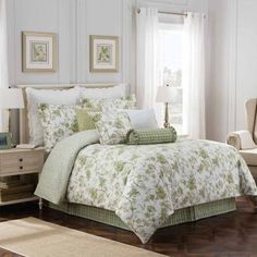 FREE SHIPPING AVAILABLE! Buy Williamsburg Burwell 4-pc. Floral Comforter Set at JCPenney.com today and enjoy great savings. Available Online Only! #ComforterSets