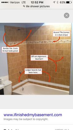 My Basement Bathroom Was The First Tiling Job I Had Ever Attempted Here Are The  Secrets To Successful Basement Bathroom Tiling