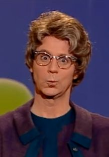 'the church lady' from Saturday Night Live. Dana Carvey, as someone said, left 'no fingerprints'. He was cool!