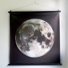 The Full Moon Giant Poster - Lunar Moon Wall Art Decor -  Bohemian Home decor on Etsy, $89.40 AUD