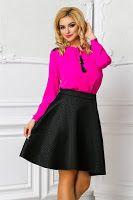 bluze-dama-ieftine-online-10 Bell Sleeves, Bell Sleeve Top, Skater Skirt, Mini Skirts, Womens Fashion, Casual, Tops, Skater Skirts, Mini Skirt