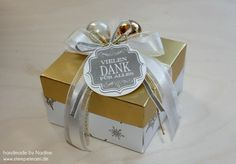 Box Stampin Up Envelope Punch Board Card Box Pillowbox 049