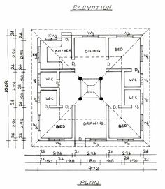south indian traditional house plans - Google Search | homes ...