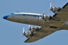 Lockheed Constellation In Flight