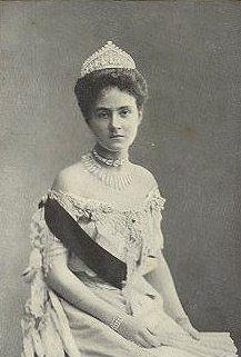 Princesse Karoline Reuss (1884-1905) épouse du prince Guillaume de Saxe-Weimar