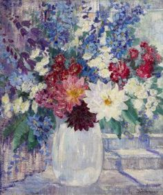 Jane Peterson, (American, 1876-1965), Still Life with