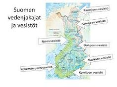 suomen joet - Google-haku Geography, Finland, Earth, Map, Google, Beautiful, Location Map, Maps, Mother Goddess