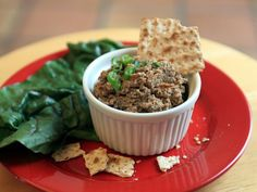 A Passover Potluck idea from Eating Rules - recipe from Arthur Schwartz's Jewish Home Cooking. Vegetarian, pareve, gluten free, kosher for Pesach