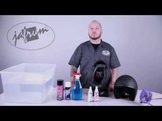 How To Clean A Motorcycle Helmet | Half, Flip Up, Full Face, Modular
