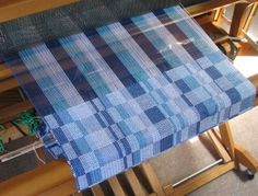 Originally I thought that after I'd woven this set of Fibonacci dishtowels, I'd put on a new warp with a different threading plan. My br...