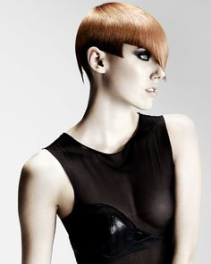 Chistel Lundqvist hairdresser. London 2010. Hair # Vanguardia # Color hair # Moda