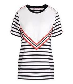 See by Chloe: Striped Jersey T-Shirt
