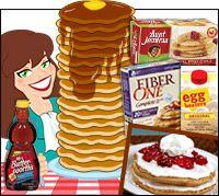 Pancake Picks & Ordering Tips, Plus Zero-Calorie Claims!