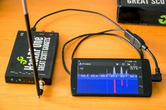 Mantz Tech: RF Analyzer - Explore the frequency spectrum with the HackRF on an Android device