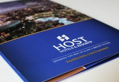 Host Hotels Brochure Cover