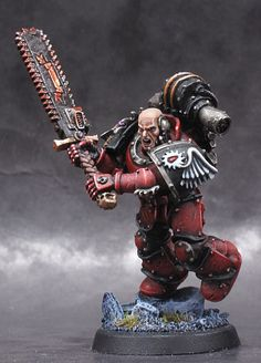 40k - Chapter Master Gabriel Seth of the Flesh Tearers