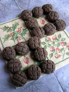 Mákos pogácsa Kos, Cookies, Chocolate, Crack Crackers, Biscuits, Chocolates, Cookie Recipes, Aries, Brown