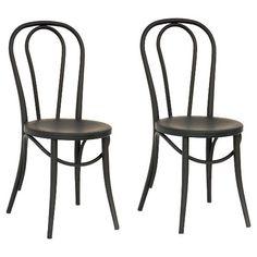 Threshold Emery Metal Bistro Chair Set
