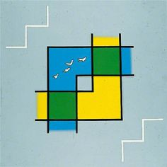 Patrick Caulfield, Landscape with Birds