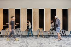 Airbnb designs adaptable office spaces for London, Sao Paulo and Singapore #booth