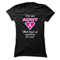 Superhero Aunt - #grey tshirt #sweater women. WANT THIS  => https://www.sunfrog.com/Names/Superhero-Aunt-Ladies.html?id=60505