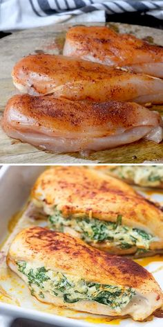Easy Chicken Recipes, Healthy Dinner Recipes, Keto Recipes, Cooking Recipes, Easy Recipes, Baked Salmon Recipes, Turkey Recipes, Appetizer Recipes, Easy Casserole Recipes